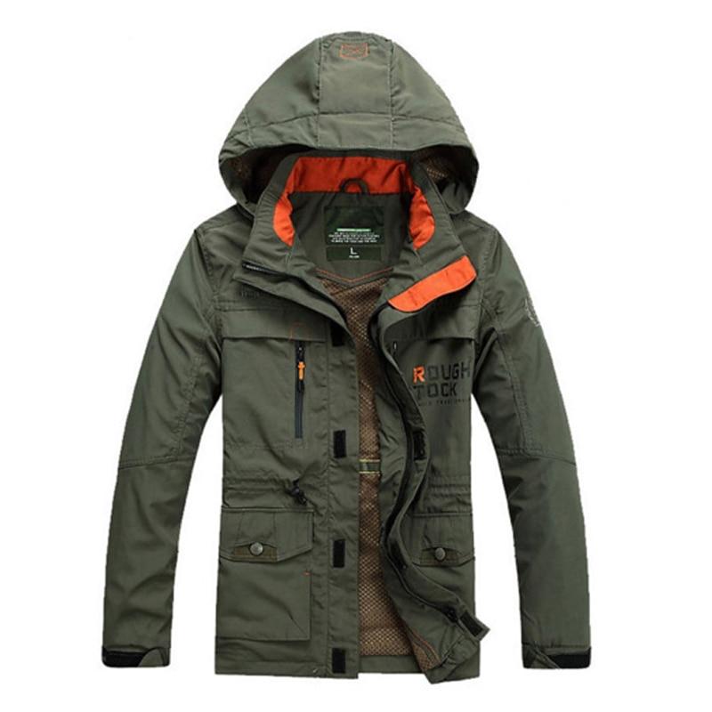 Hommes printemps automne manteau extérieur vestes sweat à capuche homme randonnée Camping Trekking escalade homme grande taille surdimensionné vêtements d'extérieur