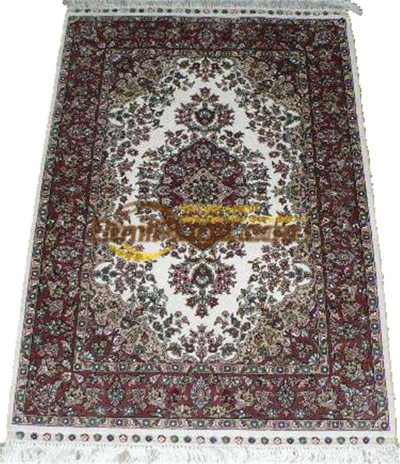 Laine ou soie persan Folk Antique décor pour salon laine tapis tapis Style sud-ouest tapis - 4