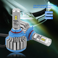 New Car Styling 9005 HB3 Car High Power Light Car Headlight Automobiles Front Lamp 7000lm 6000K