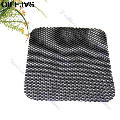 QILEJVS Black Flexible Car Non Slip Anti-slip Dash Mat Pad Dashboard Phone Key Holder