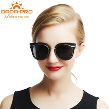 DADA-PRO New Fashion Full Frame Cat's Eye Metal Polarized UV400 Sunglasses Men/Women Luxury Brand Designer Retro Sunglasses