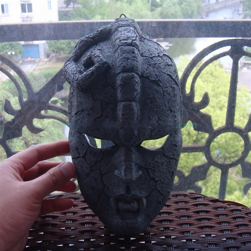 JoJo's Bizarre Adventure Stone Ghost Resin Masks Cosplay Adult Props Decoration