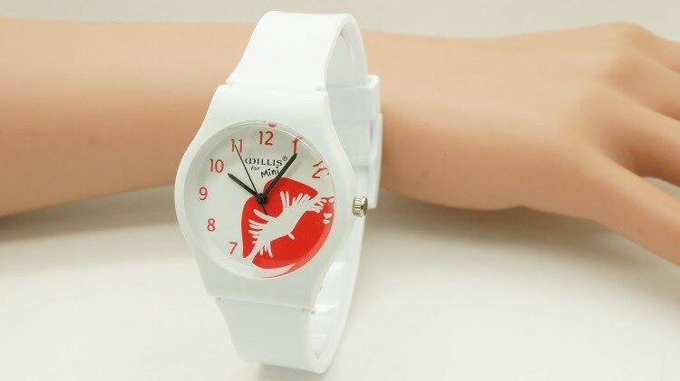 ②Уиллис часы женщина красочный круглый ...
