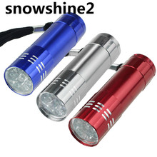 snowshine2 3522 Nine Small Light LED Waterproof Flashlight Light Lamp wholesale