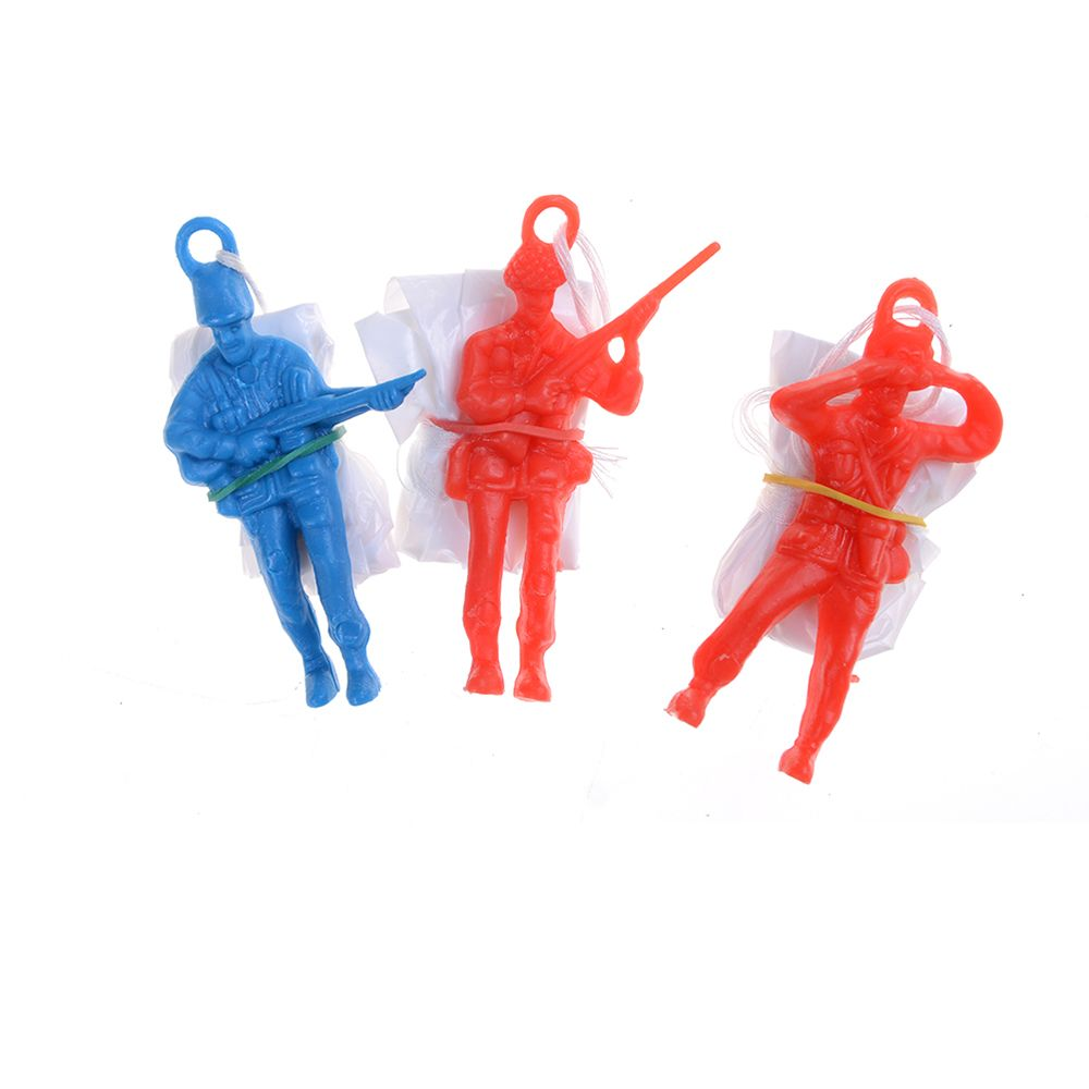 Hot 3Pcs Outdoor Hand Throwing Kids Mini Play Parachute Toy Fun & Sports Play Game Children's Educational Toys