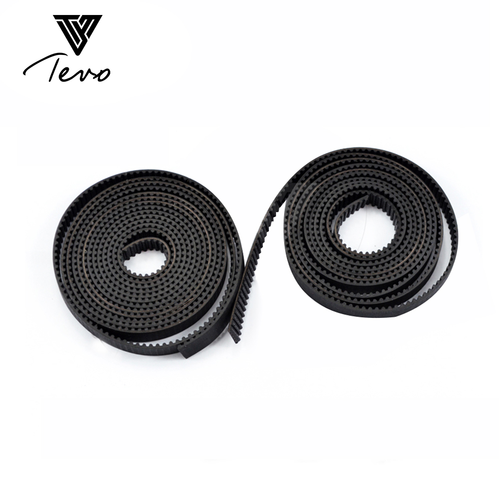3D Printer part 10 Meter GT2-6mm open timing belt width 6mm GT2 belt For 3D 2GT Timing Belt Printer parts Free shipping wholesale 3d printer synchronous gt2 belt for reprap ultimaker other printer 1m length free shipping
