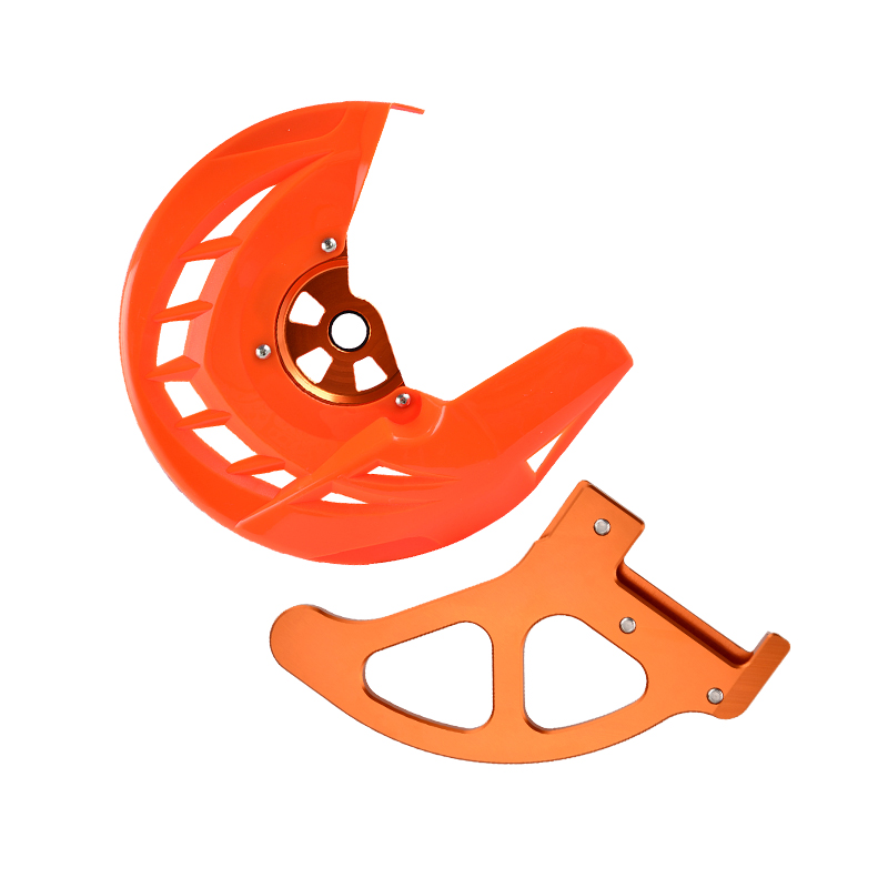 Front Rear X-Brake Disc Disk Guard Cover Protector Mounts For KTM 125 150 200 250 300 350 400 450 530 SX/SX-F/XC/XC-F 2015-2018Front Rear X-Brake Disc Disk Guard Cover Protector Mounts For KTM 125 150 200 250 300 350 400 450 530 SX/SX-F/XC/XC-F 2015-2018