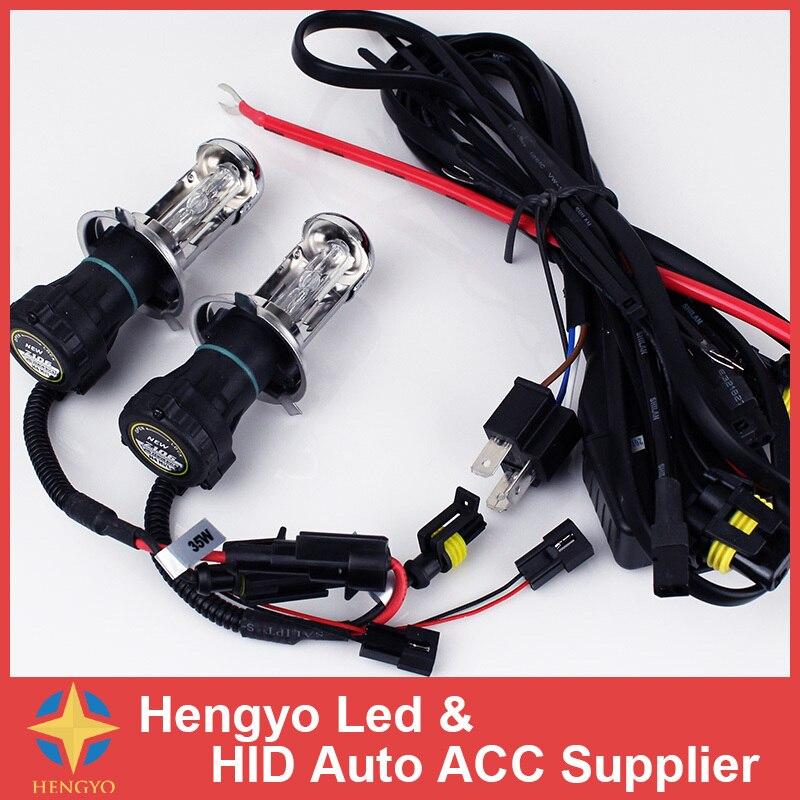 Garantie 1 an bi-xénon H4 HID 35 w 12 V 6000 K 8000 K 10000 K H4 Bi xenon H4 Bixenon lumières phares sans Ballast