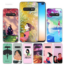 Mulan Anime Case for Samsung Galaxy S8 S9 S10 5G S10e S7 Note 8 9 J4 J6 Plus J5 J8 2018 J3 Silicone Fundas Capa Phone Bags Cover(China)