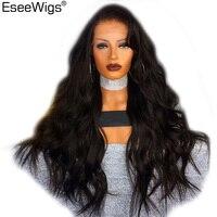 Свободная волна Синтетические волосы на кружеве человеческих волос парики 13x6 250 плотность перуанской человеческих волос Синтетические вол