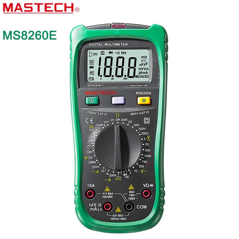 Lcr Meter High Voltage : Mastech ms e digital multimeter lcr meter ac dc voltage