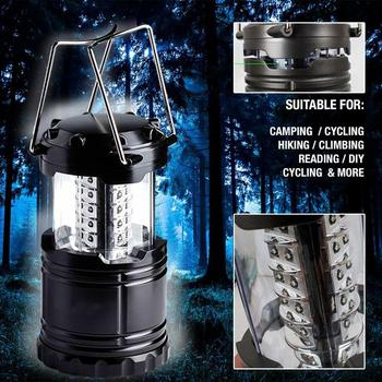 Ultra Helle Faltbare 30 Led Leichte Camping Laternen Licht Für Wandern Camping Notfälle Hurricanes Stromausfälle