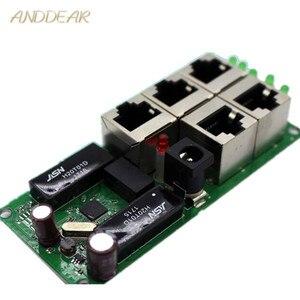 Image 2 - OEM di alta qualità mini prezzo a buon mercato 5 porte switch modulo società manufaturer PCB bordo 5 porte ethernet switch di rete modulo
