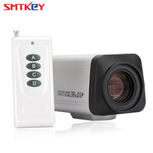 "SMTKEY 2.0MP פוקוס אוטומטי עדשת זום 3.0 90 מ""מ תיבת מצלמה CCTV מצלמה 36X1080 P AHD AHD עם שלט רחוק"