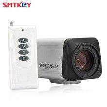 SMTKEY Zoom de enfoque automático de 2.0MP, lente de 3,0 90mm, caja de cámara CCTV AHD, cámara 36X 1080P AHD con control remoto