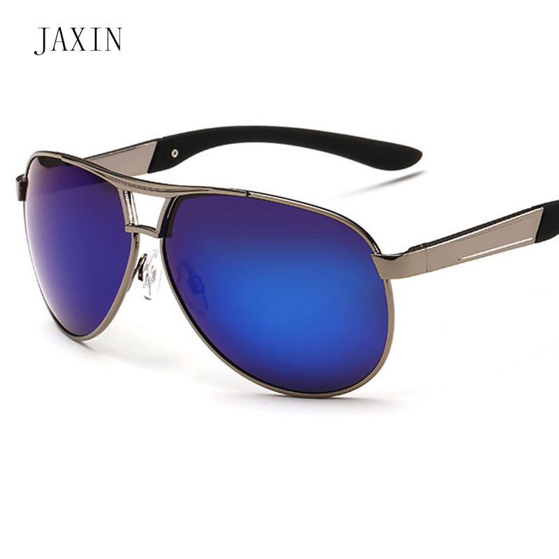 JAXIN Fashion Edging Polarized Sunglasses Men Personality Trend Sun Glasses Outdoor Travel Goggles UV400 Okulary Gafas