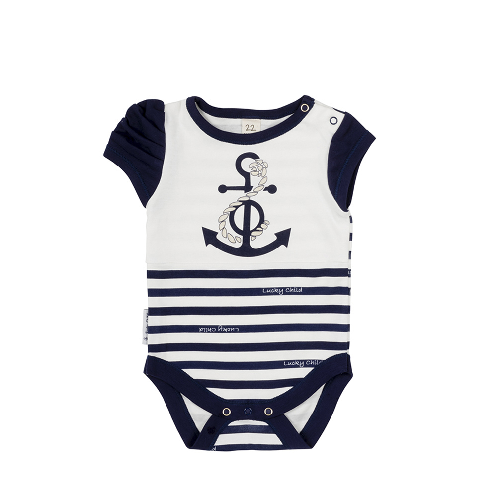 Bodysuits Lucky Child for girls 28-5D blue beach sea Newborns Babies Baby Clothing Children clothes tank tops made in russia 55cm silicone reborn baby boy doll toys for kid child lovely vinyl babies dolls fashion birthday present gift girls brinquedos