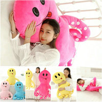 90 135cm Rose Blue Pink Yellow Cute Octopus Pillow Sleep Cushion Octopus Plush Toys Cloth Doll