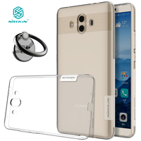 NILLKIN Nature Soft Silicon TPU Cover For Huawei Mate 10 Case Clear Luxury For Huawei Mate