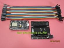 ESP8266 kit de Placa de Desarrollo + NodeMcu NodeMcu Lua Wifi Intternet de Cosas base + 40 P cables de prueba DIY Breadboard