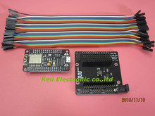 ESP8266 комплект NodeMcu Lua Wi-Fi Intternet вещей Развития Борту + NodeMcu база + 40 P провода тестирования DIY Макет