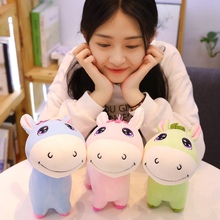 цены на New 1pc 25cm-60cm Small Cute Donkey Doll Plush Toy Soft Animal Stuffed Personal  Cute Child Kid Girl Kawaii Birthday Gift  в интернет-магазинах
