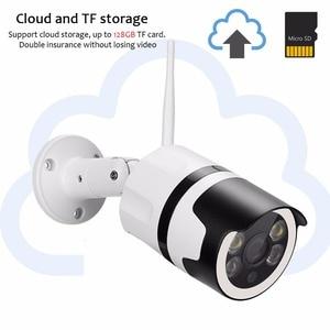 Image 5 - 2mp 미니 홈 와이파이 보안 카메라 야외 1080 p hd 와이파이 ip 카메라 방수 ir 나이트 비전 cctv 감시 총알 캠