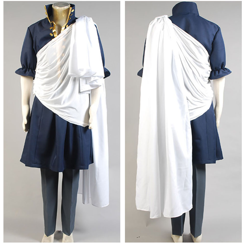 Fairy Tail Zeref Cosplay Costume Customized Halloween Carnival Party Adult Men Cosplay Costume