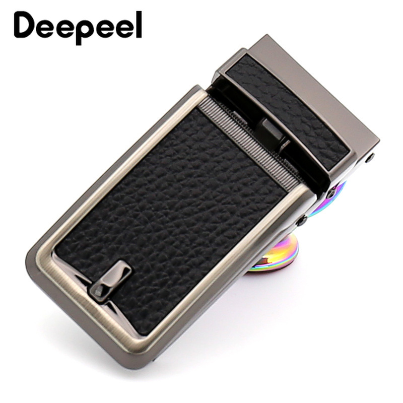 Deepeel 1pc 32mm Metal Leather Business Automatic Belt Buckle Head DIY High-quality Hardware Crafts Jeans Jewelry Material YK010