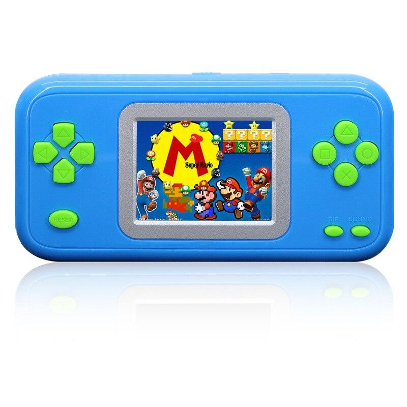1 unid Niños Consolas de Videojuegos Consola Portátil con Cartucho Clásico Juego