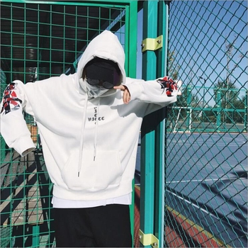 HEYGUYS2018 New Spring Hoodie Mens Hip pop Sweatshirts Harajuku hip hop Cross double snake embroidey Long.jpg 350x350 - Giftfunny