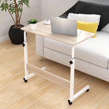 Minimalist Computer Desk Laptop table Bedroom Bedside Table free rise and fall Student Dormitory Lounger Table Office Furniture Стол