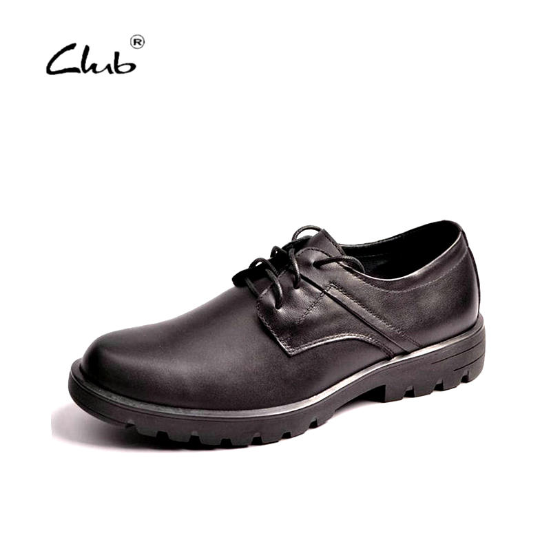 Club Black Vintage Classic 100% Genuine Leather Luxury Brand Oxfords Men Shoes Fashion Mens Casual Shoes Designer Flats dekesen brand vintage classic 100