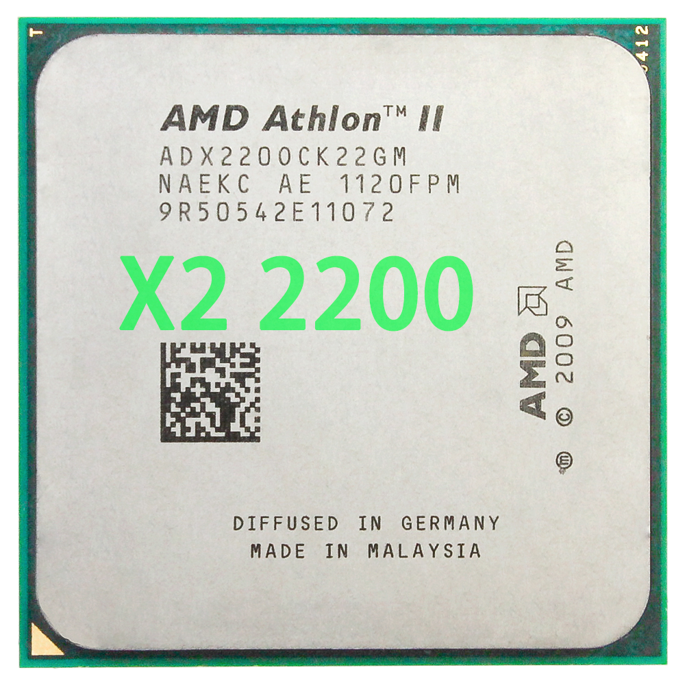 AMD Athlon II X2 220 2.8GHz/Dual-Core CPU Processor ADX220OCK22GM