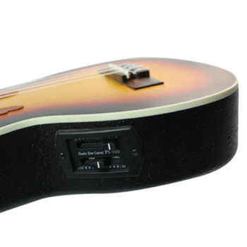 New 23 inch Compact Ukelele Ukulele Hawaiian Red Sunset Glow Spruce Rosewood Fretboard Bridge Concert Stringed Instrument with