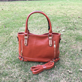 Wholesale Blanks DOMIL PU Vegan Leather Tote Bag Women Fashion Handbag with Shoulder Strap DOM103459