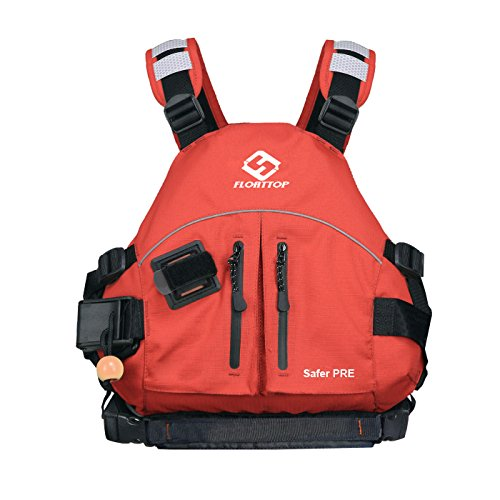 FLOATTOP Dulexe Light Wildwater Paddle Sports Kayak Life Vest Life Jacket Rafting Canoe PFD