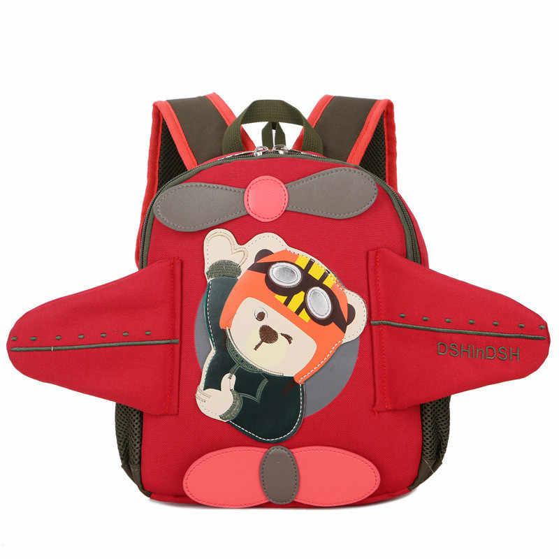 121c7dc4e4 Cartoon Kids Kindergarten Backpack Children School Bags for Boys Girls  preschool book bag Nursery Baby Satchel
