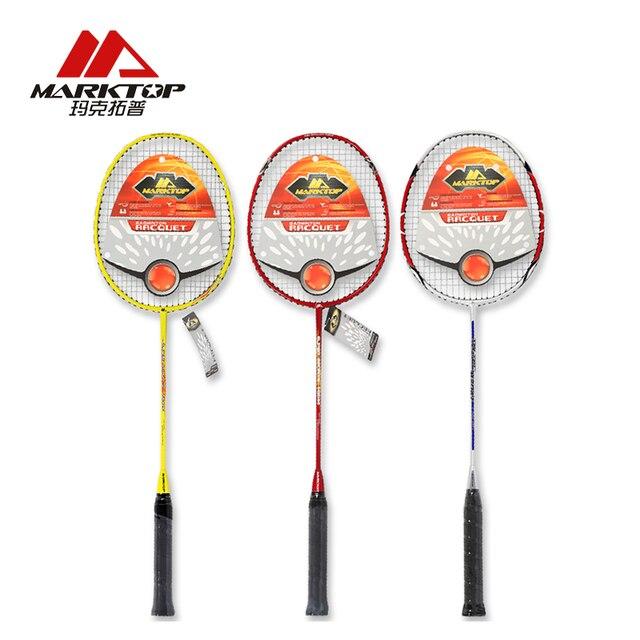 Marktop Badminton Rackets Professional Badminton Rackets Carbon Badminton Sports Racquet Sports Single Racket Overgrip zhongdi6