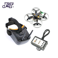 FPV Goggles LDARC TINY GT8 PNP NO RX Indoor 2S Brushless Racer with Frsky Flysky RX FS I6 TX Watch Apron RC Drone DIY Quadcopter