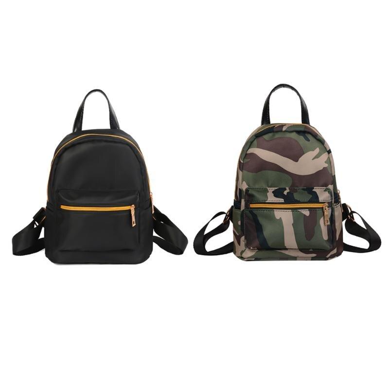 Waterproof Oxford Canvas Backpack Mini Backpack Travel School Bag Girls Shoulder Bags Camouflage Rucks Backpack