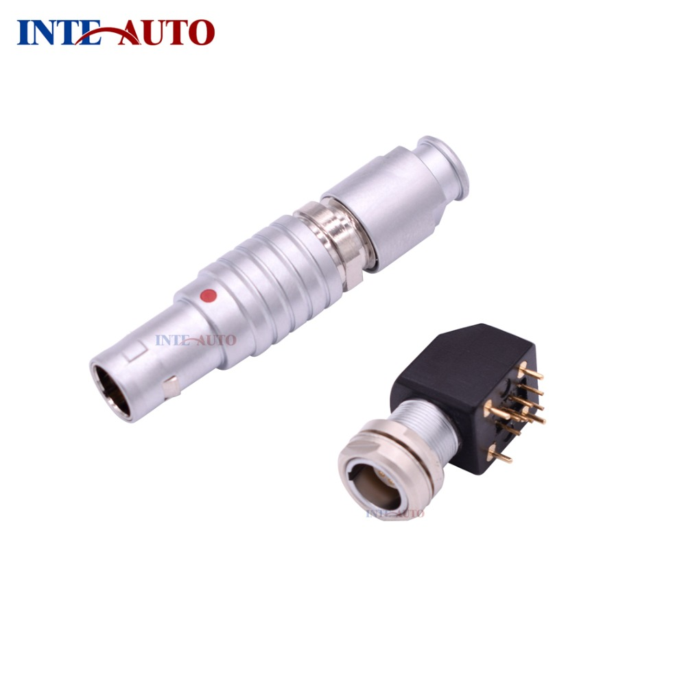 Equivalent B series Connector, High quality 5-pin metal plug and Elbow socket for Cable,FTGG.0B.305 EZXG.0B.305