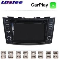 Liislee For Suzuki Swift DZire 3 Maruti 2010~2018 Car Multimedia TV DVD GPS Radio Carplay Original Style Navigation Navi