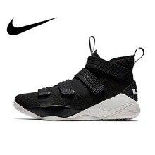 Original Authentic Nike LEBRON SOLDIER 11mens Basketball Sho