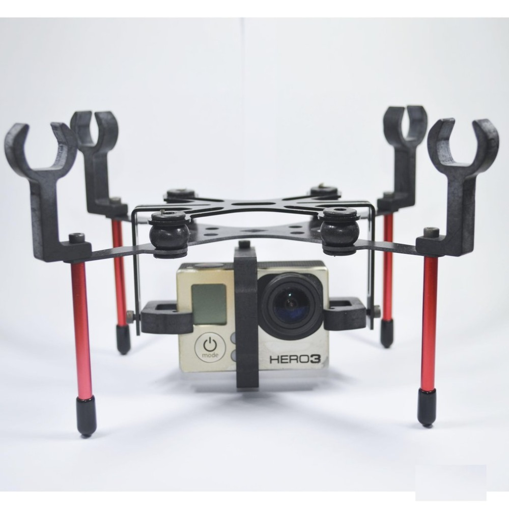 Landing Gear Gimbal Camera PTZ Mount FPV Rack for Hubsan H501S X4 FPV Quadcopter RC Drone Aerial Camera Holder FAST SHIPPING lipo battery 7 4v 2700mah 10c 5pcs batteies with cable for charger hubsan h501s h501c x4 rc quadcopter airplane drone spare