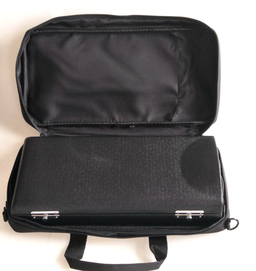 Excellence Bb Soprano Clarinet Case Black Clarinet Bags +Cloth Bag
