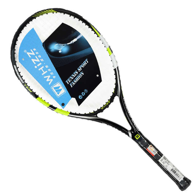50-60 LBS 100% Full Carbon Fiber Tennis Rackets Bag Raqueta Padel Racket String 4 1/4-4 3/8 Tennisracket Racquet Federer