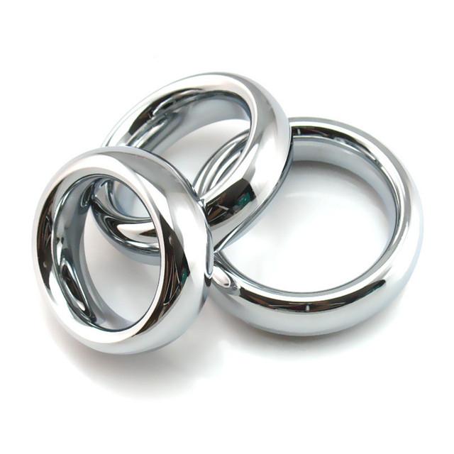 Produtos de metal em aço inoxidável, anel peniano atraso divertido esperma masculino anel de travamento, dispositivo de castidade masculino, anel de pénis, manga penis, cockring