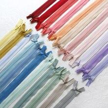 Handmade accessories Invisible nylon zipper