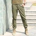 2016 Моды Случайные Штаны Мужчины Стелс Карман Дизайн, Матовая Ткань камуфляж Армии Мужчин Брюки MK-7177A Z20